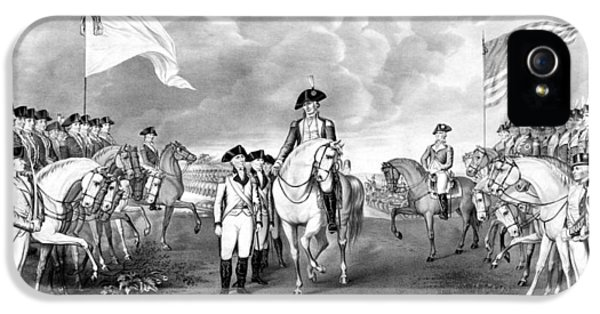 Surrender Of Lord Cornwallis At Yorktown IPhone 5 Case