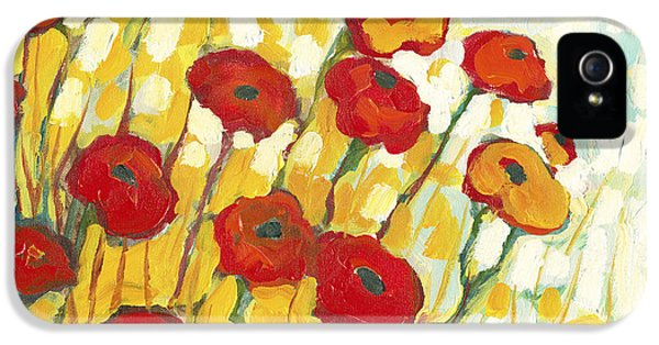 Impressionism iPhone 5 Case - Surrounded In Gold by Jennifer Lommers