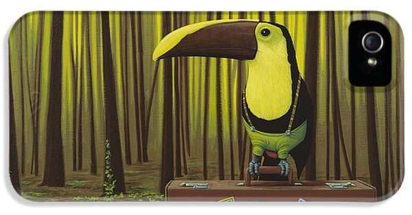 Toucan iPhone 5 Case - Suspenders by Jasper Oostland