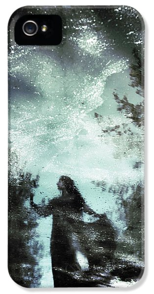 Magician iPhone 5 Case - Swamp Witch by Cambion Art