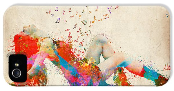 Sweet Jenny Bursting With Music IPhone 5 Case