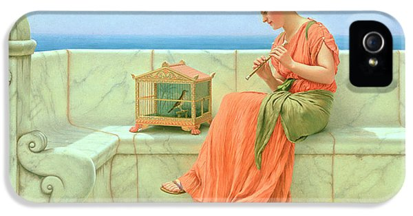 Canary iPhone 5 Case - Sweet Sounds by John William Godward