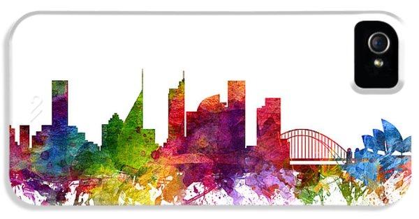 Sydney Australia Cityscape 06 IPhone 5 Case