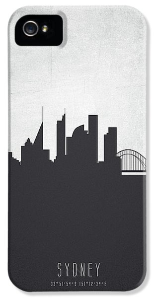 Sydney Australia Cityscape 19 IPhone 5 Case by Aged Pixel