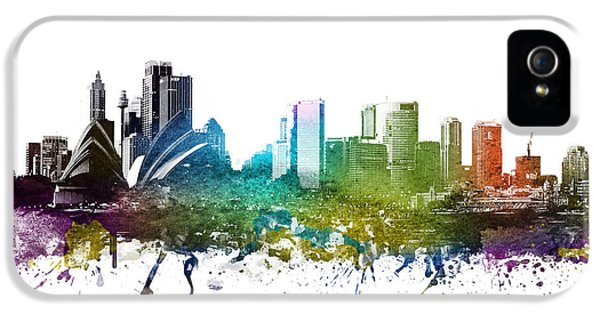 Sydney Cityscape 01 IPhone 5 Case