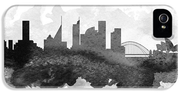 Sydney Cityscape 11 IPhone 5 Case by Aged Pixel