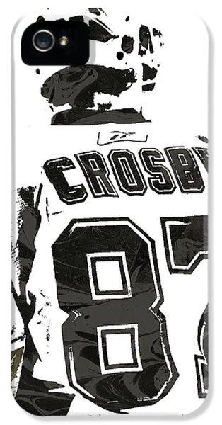 Sydney Crosby Pittsburgh Penguins Pixel Art 2 IPhone 5 Case