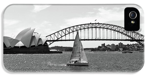 Sydney Harbour No. 1-1 IPhone 5 / 5s Case by Sandy Taylor