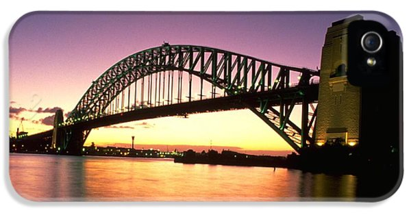 Sydney Harbour Bridge IPhone 5 Case by Travel Pics