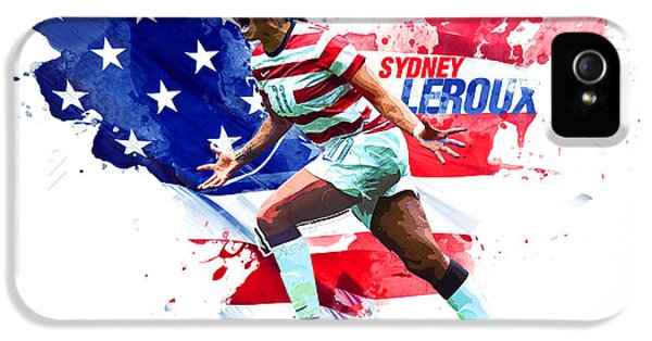 Sydney Leroux IPhone 5 Case by Semih Yurdabak