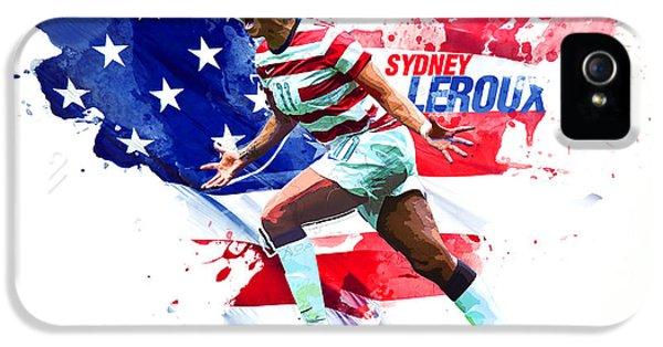 Sydney Leroux IPhone 5 Case by Semih Yurdabak