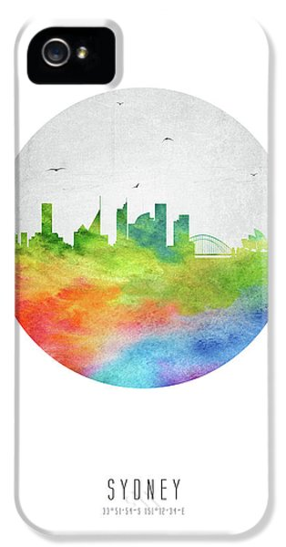 Sydney Skyline Ausy20 IPhone 5 Case by Aged Pixel
