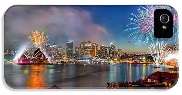 Sydney Sparkles IPhone 5 Case by Az Jackson