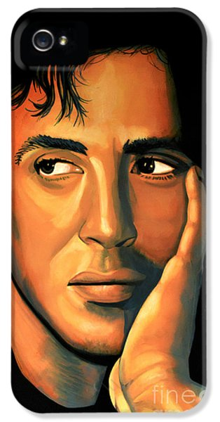 Sylvester Stallone IPhone 5 Case by Paul Meijering