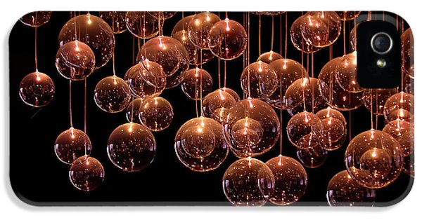 Bubbles iPhone 5 Cases - Symphony in the Dark iPhone 5 Case by Evelina Kremsdorf