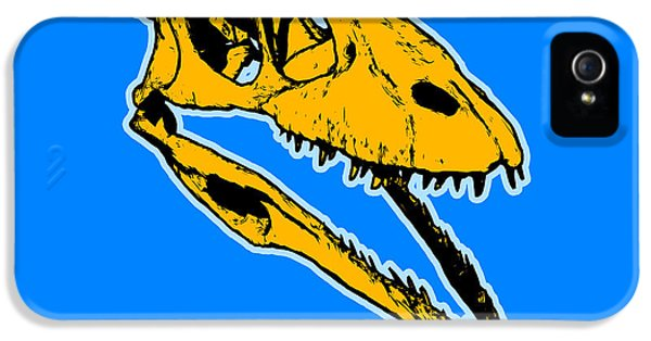 T-rex Graphic IPhone 5 Case by Pixel  Chimp