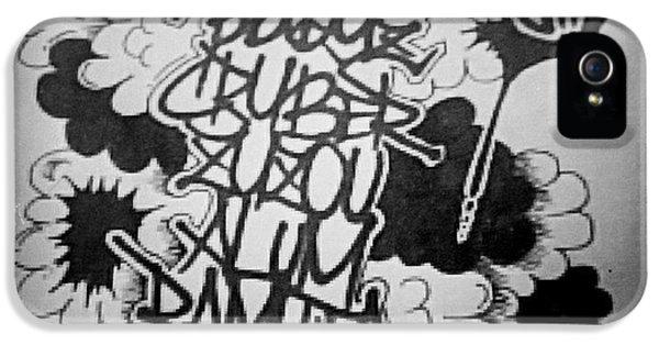 iPhone 5 Case - Tagging by Zyzou Fukuno Daisuke