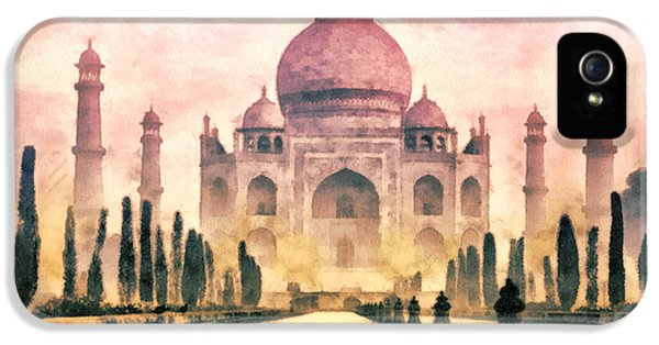 Husband iPhone 5 Cases - Taj Mahal iPhone 5 Case by Mo T