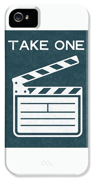 Take One- Art By Linda Woods IPhone 5 Case by Linda Woods