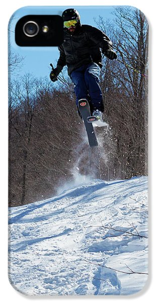 IPhone 5 Case featuring the photograph Taking Air On Mccauley Mountain by David Patterson