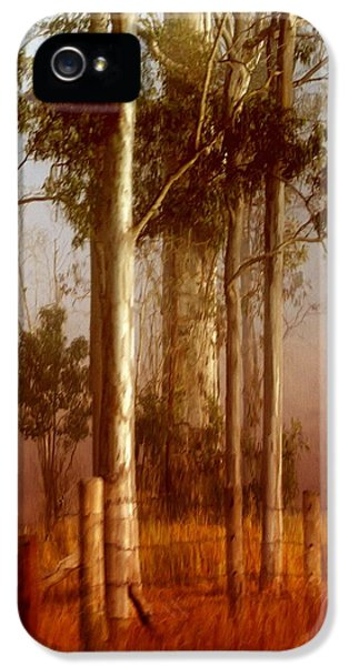 iPhone 5 Case - Tall Timbers by Holly Kempe