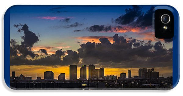 Tampa Sunset IPhone 5 Case by Marvin Spates