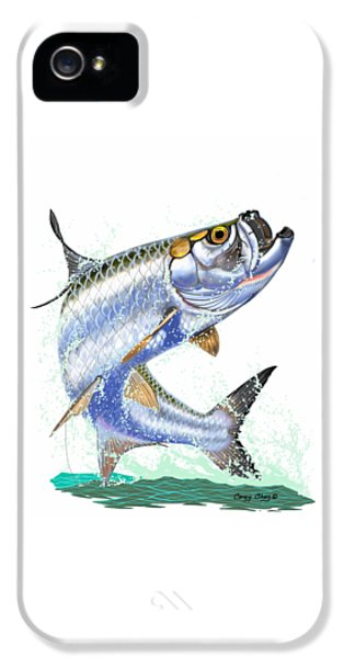 Tarpon Digital IPhone 5 Case by Carey Chen