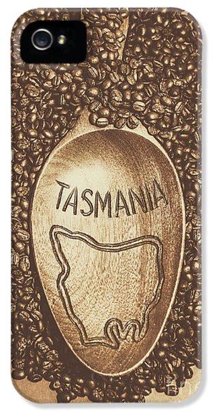 Tasmania Coffee Beans IPhone 5 Case
