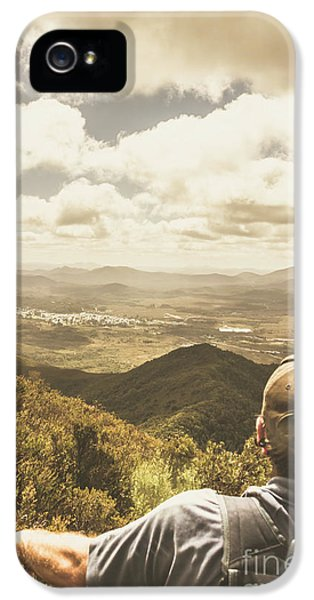Tasmanian Hiking View IPhone 5 Case by Jorgo Photography - Wall Art Gallery