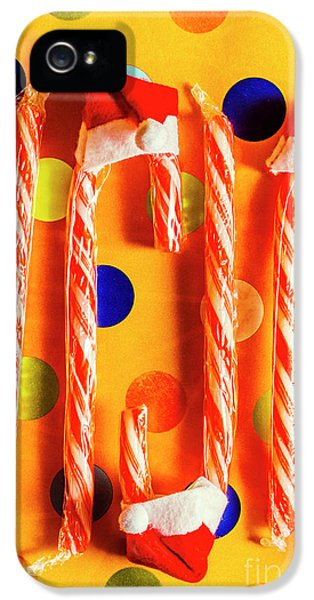 Tasty Candy Cane Sweets IPhone 5 Case by Jorgo Photography - Wall Art Gallery