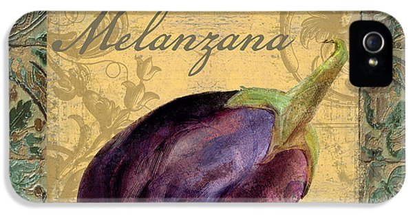 Tavolo, Italian Table, Eggplant IPhone 5 Case by Mindy Sommers