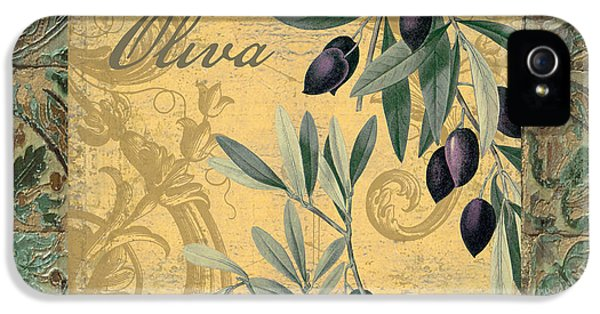 Tavolo, Italian Table, Olives IPhone 5 Case by Mindy Sommers