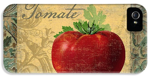 Tavolo, Italian Table, Tomate IPhone 5 Case by Mindy Sommers