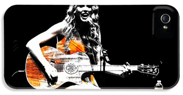 Taylor Swift 9s IPhone 5 / 5s Case by Brian Reaves