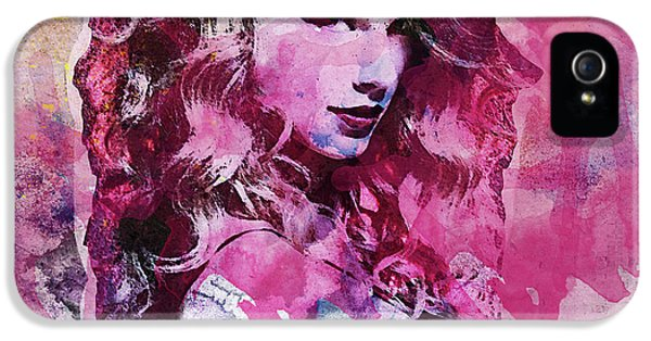 Taylor Swift - Oncore IPhone 5 Case by Sir Josef - Social Critic - ART