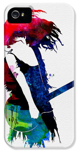 Taylor Watercolor IPhone 5 Case by Naxart Studio