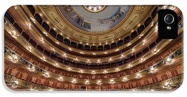Teatro Colon Performers View IPhone 5 Case