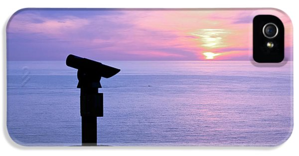 Telescope Sunset IPhone 5 Case by Terri Waters