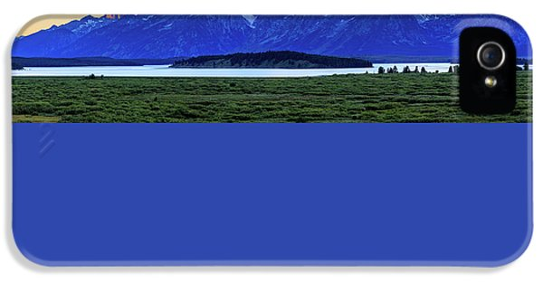 IPhone 5 Case featuring the photograph Teton Sunset by David Chandler