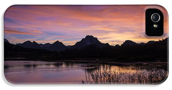 Teton Sunset IPhone 5 Case by Gary Lengyel