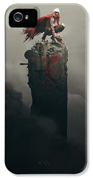 Tetsuo Shima IPhone 5 Case by Guillem H Pongiluppi
