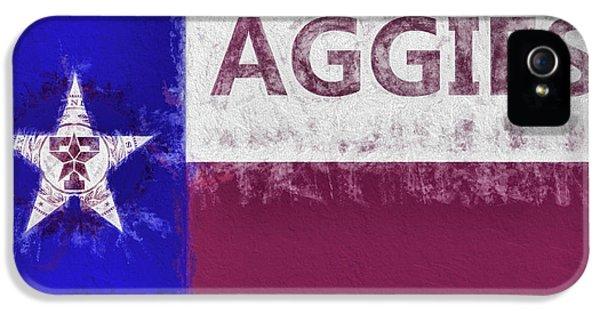 Texas Aggies State Flag IPhone 5 Case