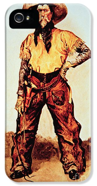 Texas Cowboy IPhone 5 Case by Frederic Remington