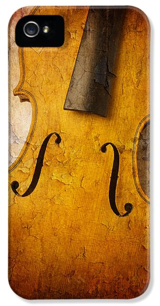 Textured Violin IPhone 5 Case