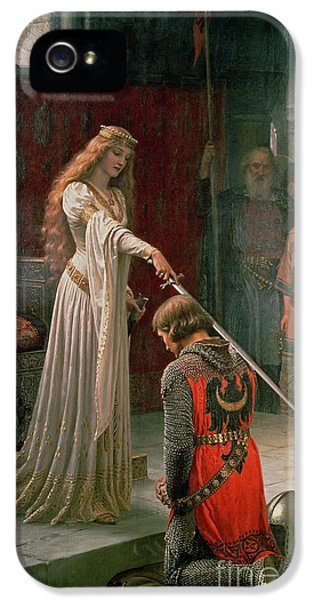 The Accolade IPhone 5 Case by Edmund Blair Leighton