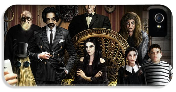 The Addams Family IPhone 5 Case