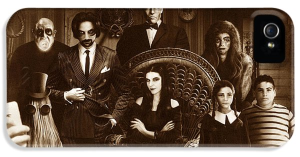 The Addams Family Sepia Version IPhone 5 Case