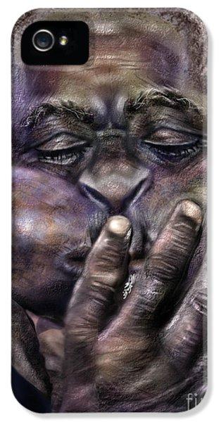 Trumpet iPhone 5 Case - The Amazing Gillespie  by Reggie Duffie