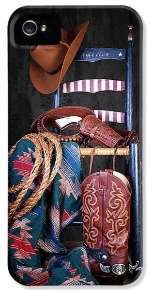 The American West IPhone 5 Case by Tom Mc Nemar