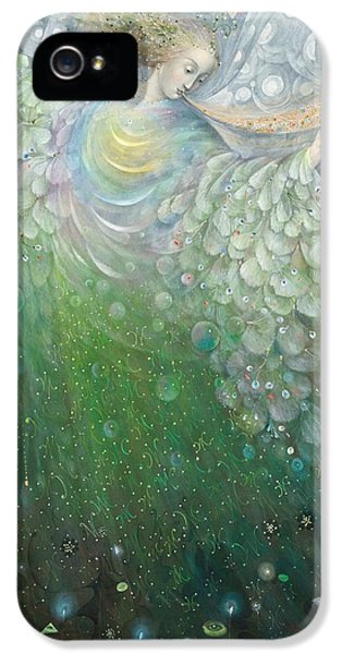 The Angel Of Growth IPhone 5 Case by Annael Anelia Pavlova